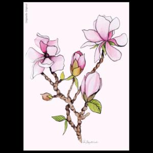 Gratulationskort Magnolia från Originella Original