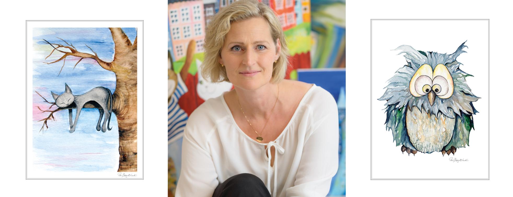 Konstnär och designer Pia Bergvall Lundén