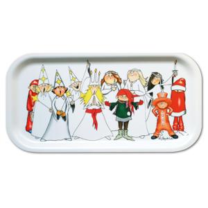 Sötaste julbrickan med luciatåget från Originella Original®