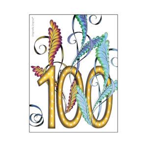Minikort 100 år