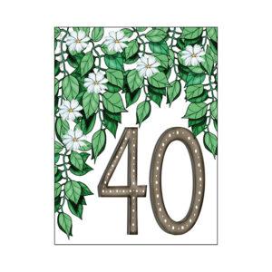 Minikort 40 år