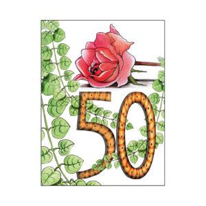 Minikort 50 år