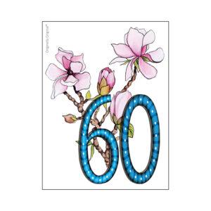 Minikort 60 år