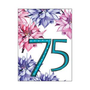 minikort 75 år