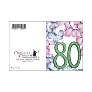minikort 80 år