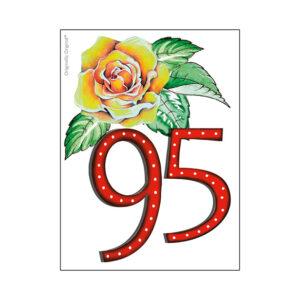 minikort 95 år