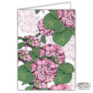 Blomsterkort Hortensia