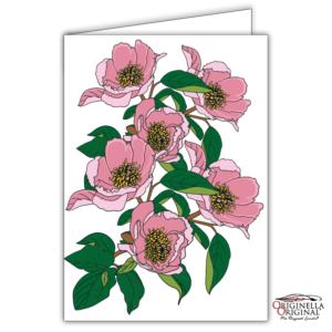 Kort med rosor