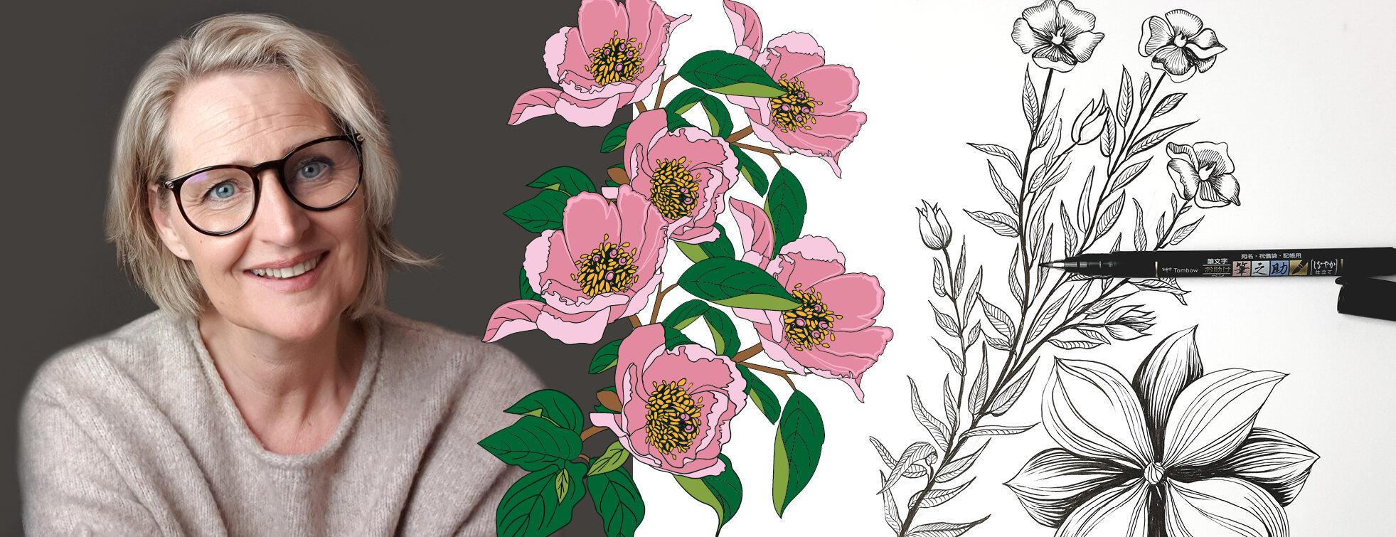 Blomsterillustrationer