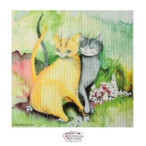Disktrasa med katter