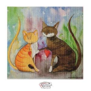 Disktrasor med kära katter