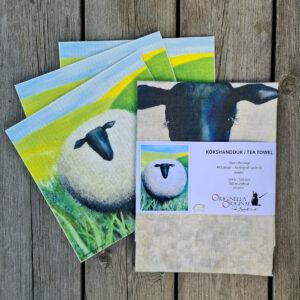 Presentkit med ulligt får