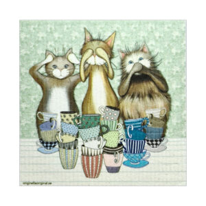 Disktrasor med katter
